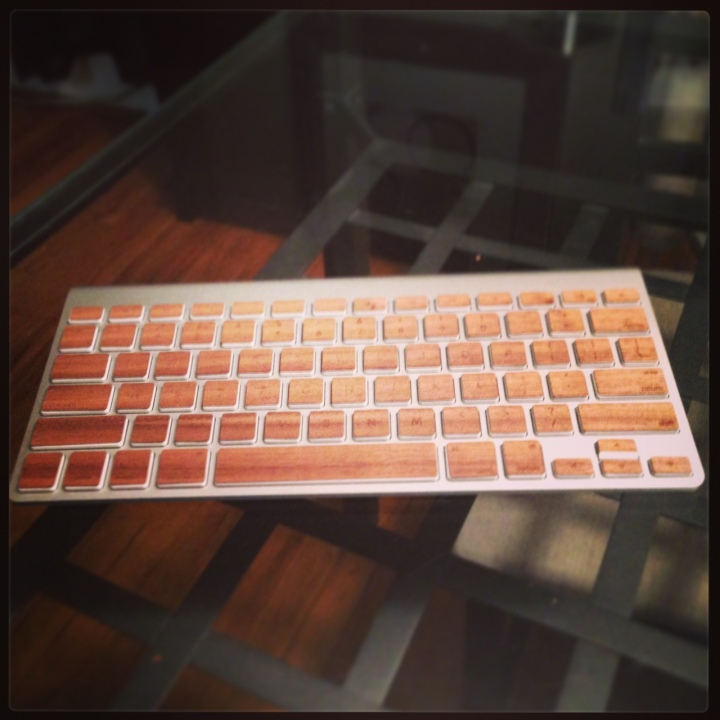 Lazerwood Keyboard