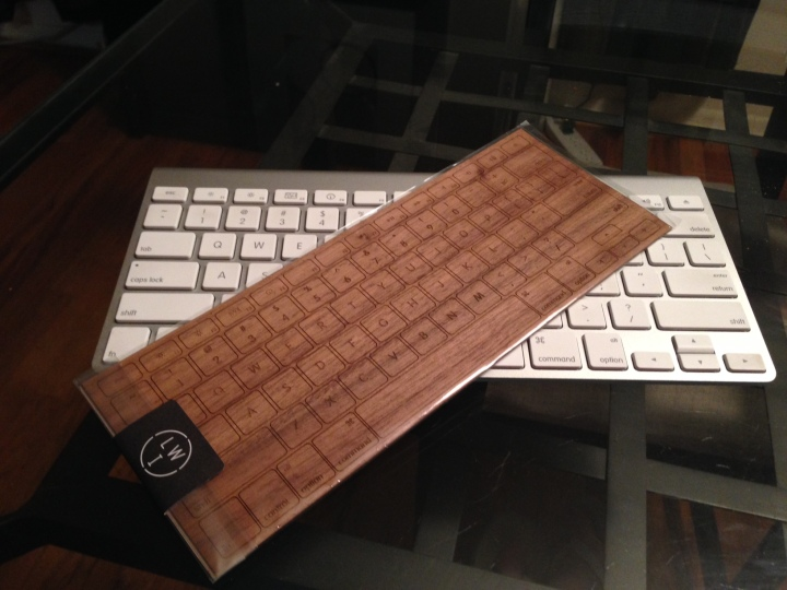 Lazerwood Keyboard