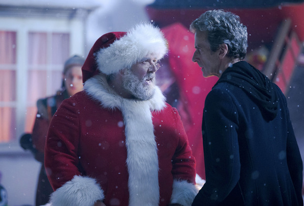 Santa and Doctor Who